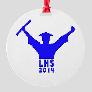 2014 Graduation Round Ornament