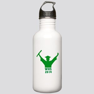 2014 Graduation Stainless Water Bottle 1.0L
