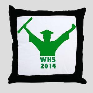 2014 Graduation Throw Pillow