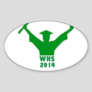 2014 Graduation Sticker (Oval)