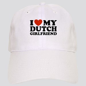 I Love My Dutch Girlfriend Cap