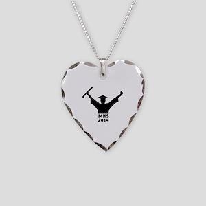 2014 Graduation Necklace Heart Charm