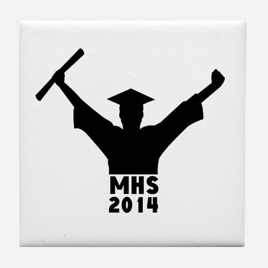 2014 Graduation Tile Coaster