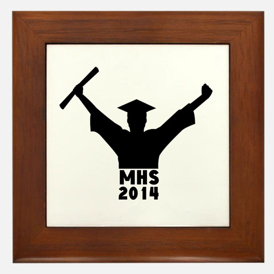2014 Graduation Framed Tile