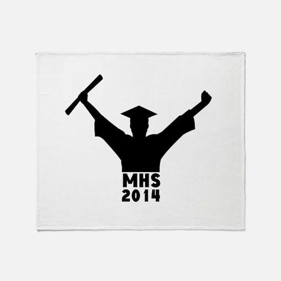 2014 Graduation Throw Blanket