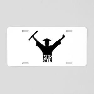 2014 Graduation Aluminum License Plate