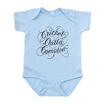 Cricket Outta Compton Infant Bodysuit
