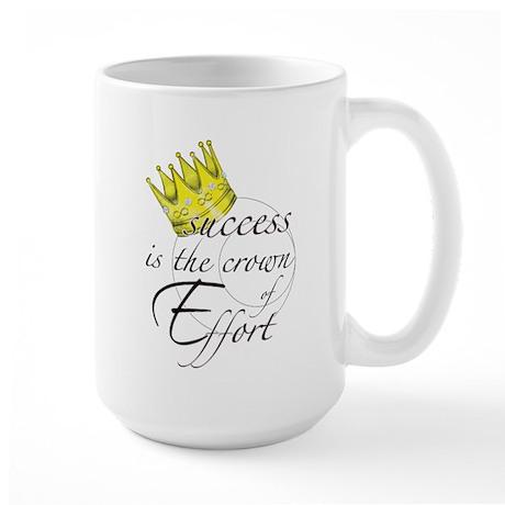 Crown of Effort Large Mug