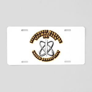 Navy - Rate - EW Aluminum License Plate
