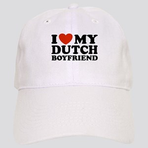 I Love My Dutch Boyfriend Cap