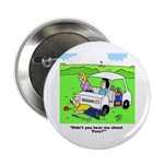 'Fore' Golf cartoon Button