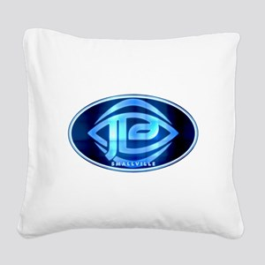JLA - Smallville Square Canvas Pillow