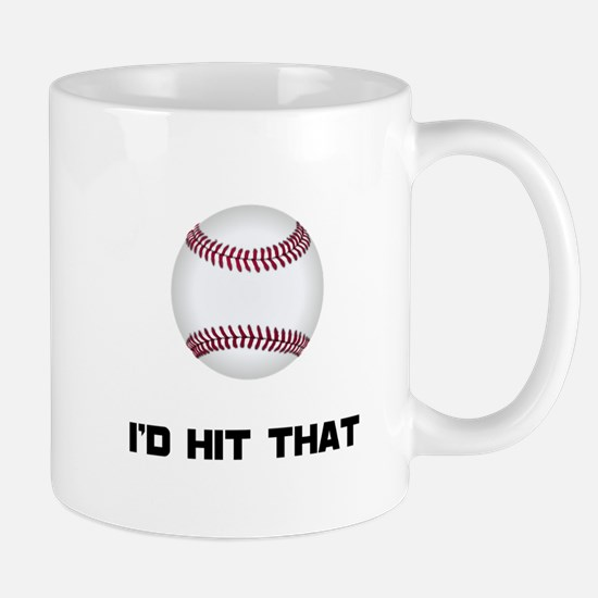 Baseball Hit That Mug