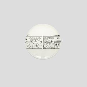 Plastic Personality Mini Button