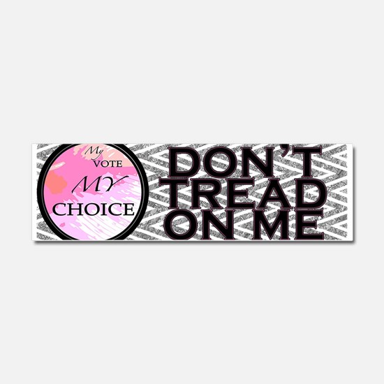 Dont Tread on Me Car Magnet 10 x 3