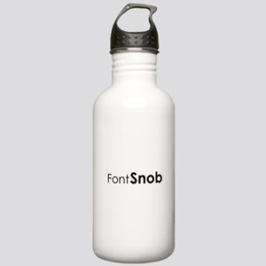 Font Snob Stainless Water Bottle 1.0L