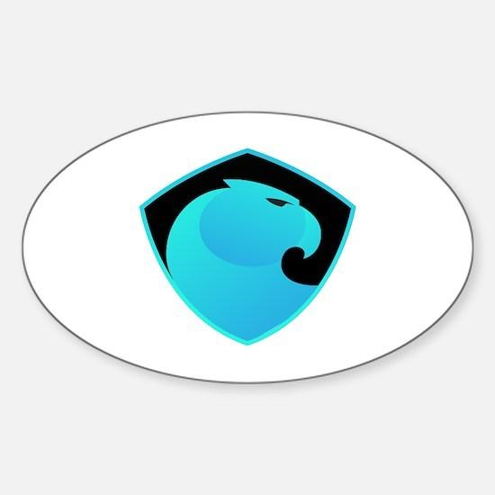 Cute Satoshi Sticker (Oval)