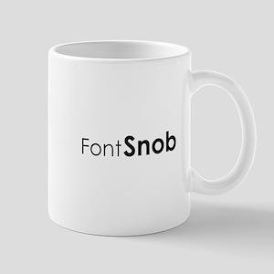 Font Snob Mug