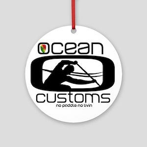 Ocean Customs/OC6 Ornament (Round)