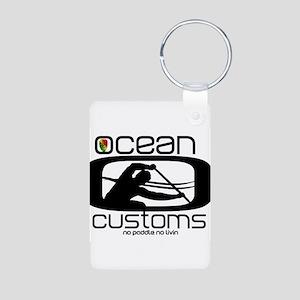Ocean Customs/OC6 Aluminum Photo Keychain
