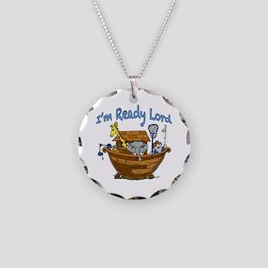 Noah's Ark. Necklace Circle Charm