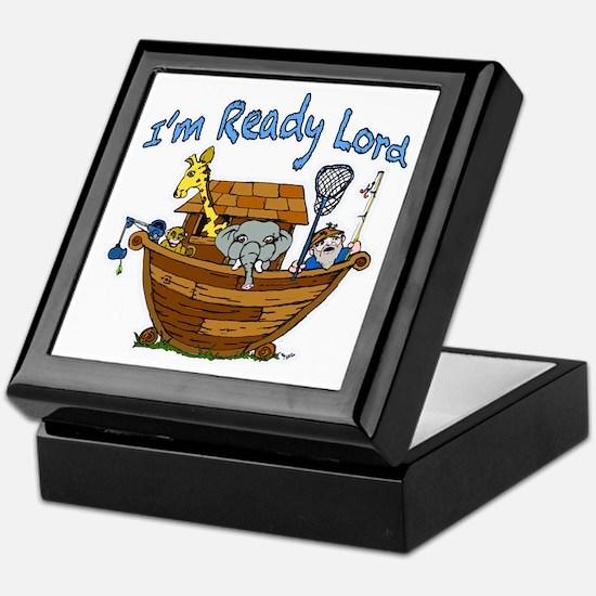 Noah's Ark. Keepsake Box