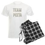 Team Peeta (White Gold) Men's Light Pajamas