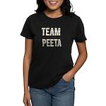 Team Peeta (White Gold) Women's Dark T-Shirt