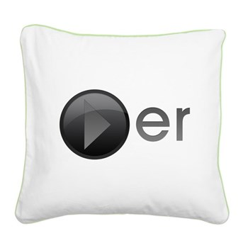 Player Square Canvas Pillow
