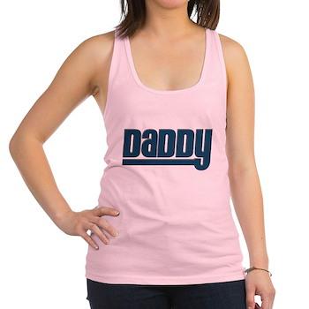 Daddy - Blue Racerback Tank Top