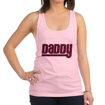 Daddy - Red Racerback Tank Top