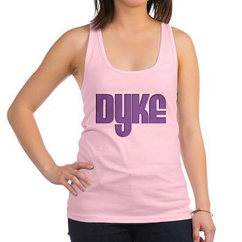 Purple Dyke Racerback Tank Top