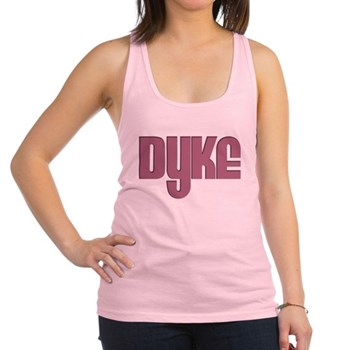 Pink Dyke Racerback Tank Top