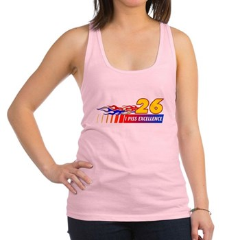 I Piss Excellence Racerback Tank Top
