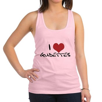 I Heart Guidettes Racerback Tank Top