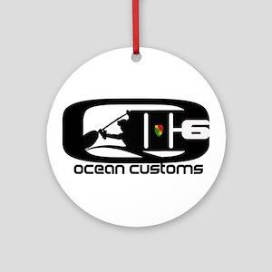 Ocean Customs /OC6 Ornament (Round)