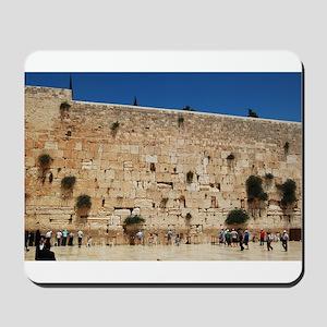 Western Wall (Kotel), Jerusalem, Israel Mousepad
