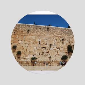 "Western Wall (Kotel), Jerusalem, Israel 3.5"" Butto"
