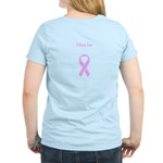 I Run for Ruth Pink Breast Cancer Women's T-Shirt