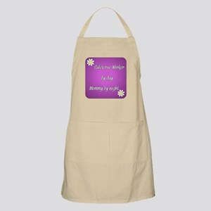 Cafeteria Worker by day Mommy by night Apron