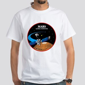 Global Surveyor White T-Shirt