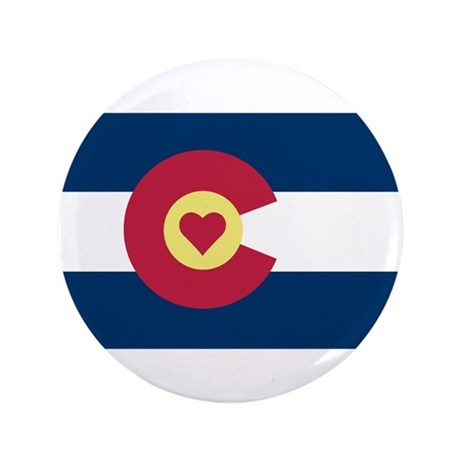 "I Love Colorado 3.5"" Button (100 pack)"