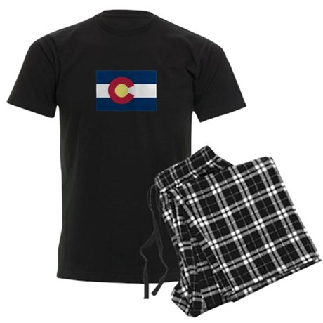 I Love Colorado Men's Dark Pajamas