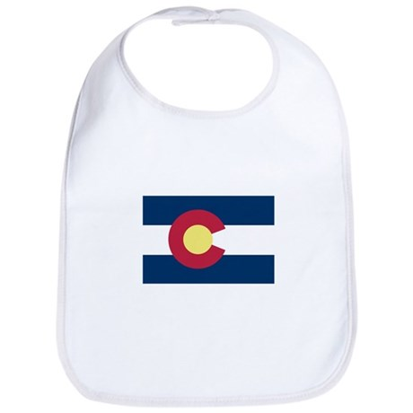 I Love Colorado Bib