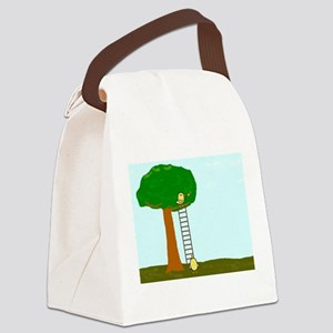 Imitating Bird Canvas Lunch Bag