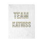 Team Katniss (White Gold) Twin Duvet