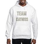 Team Katniss (White Gold) Hooded Sweatshirt