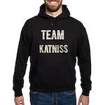 Team Katniss (White Gold) Hoodie (dark)