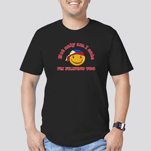 Cute and Filipino Men's Fitted T-Shirt (dark)