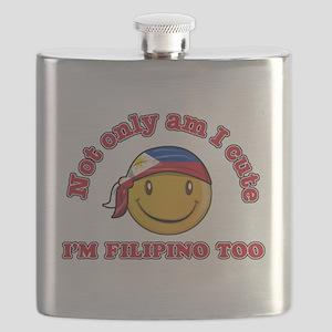 Cute and Filipino Flask